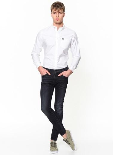 Lee&Wrangler Lee & Wrangler L880Jq12 Button Down Gömlek Beyaz